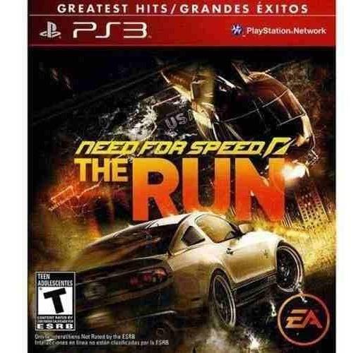 Need For Speed The Run Ps3 Mídia Física Lacrado