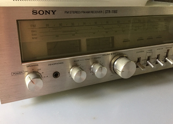 Receiver Sony Str 11bs / Serve Akai Pioneer Sansui Marantz
