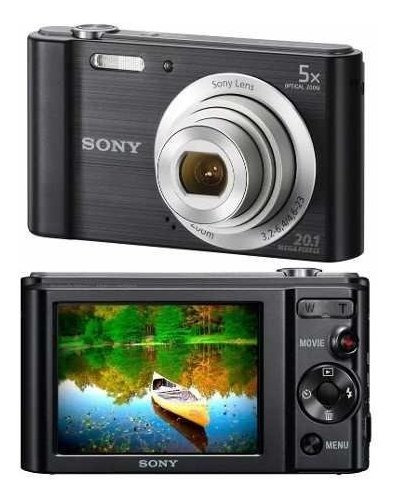 Câmera Digital Sony W800 20.1 Mpx Nota Fiscal