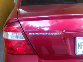 Ford Five Hundred 3.0 Sel Cd Mp3 At 2007