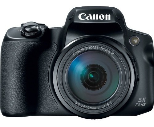 Câmera Canon Powershot Sx70 Hs 65x Zoom 20.3 Mp