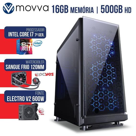 Computador Gamer Intel Core I7 3.6ghz Mem 16gb(2x 8gb) Hd500