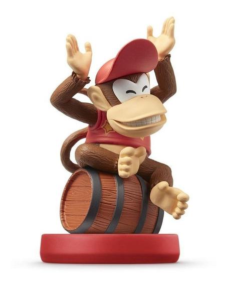Nintendo Amiibo Diddy Kong Super Mario Wii U New 3ds Switch