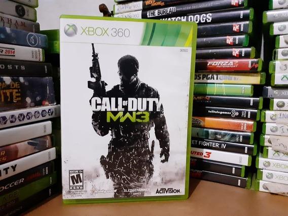 Jogo De Tiro Call Of Duty Mw3 Xbox 360 Original Mídia Física