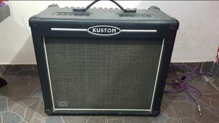 Amplificador Kustom Hibrido Bulbo 65watts Efectos