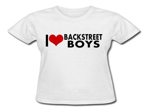 Baby Look Personalizada - I Love Backstreet Boys