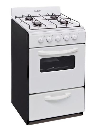 Cocina Martiri New Lujo 4 multigas blanca puerta visor