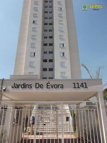 Apartamento Com 2 Dormitórios À Venda Por R$ 413.400 - Vila Antonieta - São Paulo/sp - Ap0634