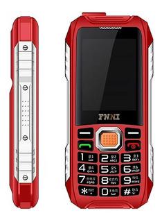 Celular 2.8 Pulgadas Dual Sim B109 Rojo Boombox