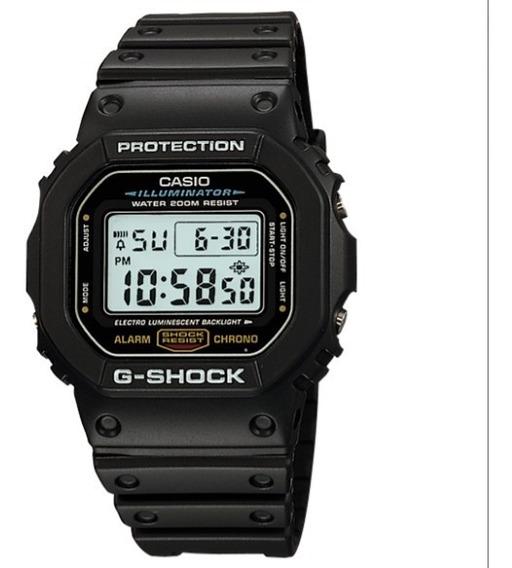 Relogio Casio G-shock Dw-5600e-1v 100% Original Dw-9052