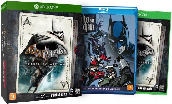 Batman Return To Arkham Em Português Midia Fisica Xbox One