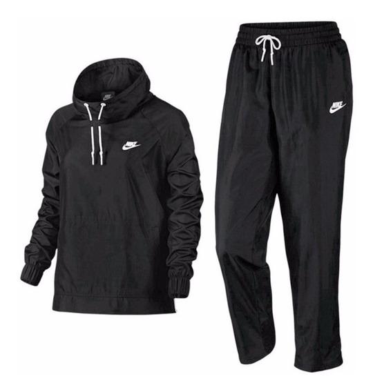 Agasalho Feminino Nike Nsw Track Suit Wove 829723 | Katy