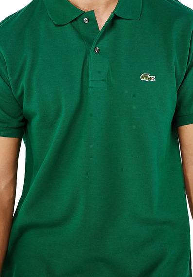 Camiseta Lacoste Gola Polo Verde Original Varejo Promoção