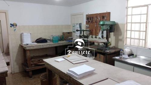 Casa Com 2 Dormitórios À Venda, 78 M² Por R$ 350.000,00 - Vila Scarpelli - Santo André/sp - Ca1095