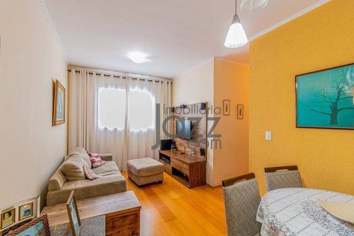 Apartamento Com 2 Quartos À Venda, 65 M² Por R$ 260.000 - Jardim Paulicéia - Campinas/sp - Ap3662