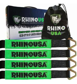 Correas De Amarre De Eje Rhino Usa Paquete De X Pro...