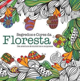 Livro De Colorir - Cores Da Floresta