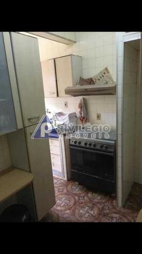 Apartamento À Venda, 2 Quartos, Botafogo - Rio De Janeiro/rj - 17243