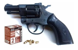 Revolver De Fogueo Cal 22 Italiano Doble Accion + 100 Balas