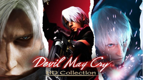 Devil May Cry Hd Collection Pc (mídia Física)