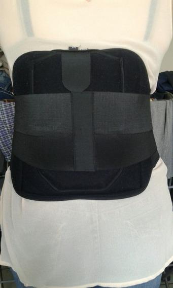 Faja Lumbar Con Soporte Ajustable Laterales Ombilical