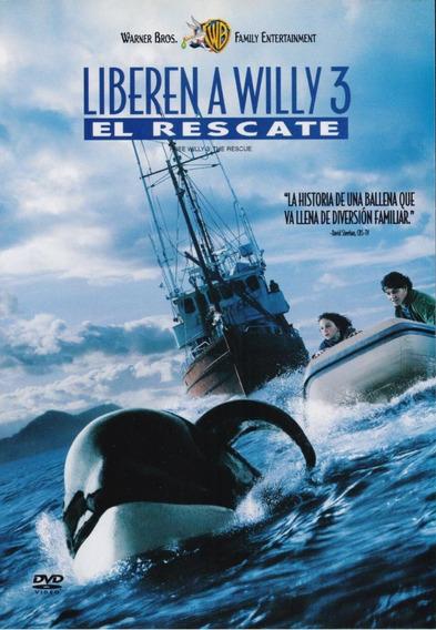 Liberen A Willy 3 El Rescate Pelicula Dvd