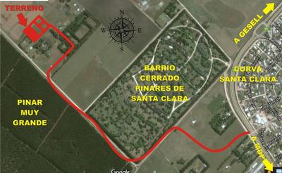 Terreno Hermoso En El Campo A 5 Km De Santa Clara Del Mar