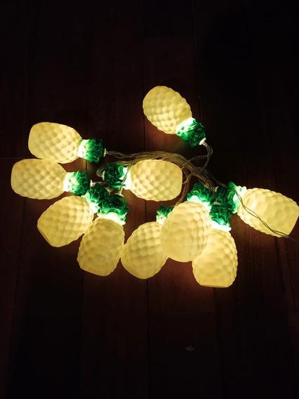 Cordão Led Luminária Abacaxi Tropical Festa
