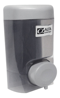 Jabonera Dispensador Jabón Líquido Rellenable Humo 750 Ml