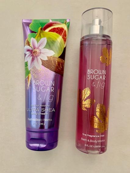 Body Splash Brown Sugar & Fig - Creme Hidratante Importados