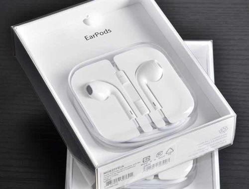Imagen 1 de 6 de Audífonos Earpods Apple iPhone 100% Originales Usa Garantía