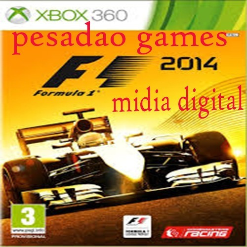 F1 2014 Xbox 360 Digital Midia