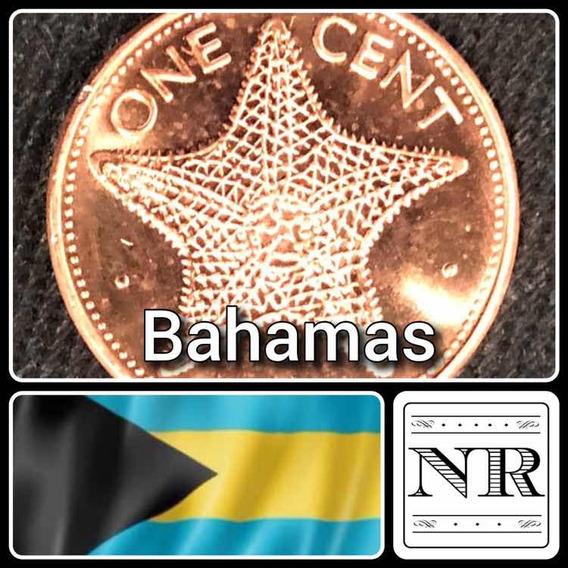 Bahamas - 1 Cent 1998 - Km # 59 A - Estrella De Mar