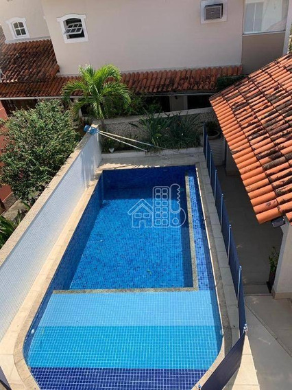 Casa Com 3 Dormitórios Para Alugar, 350 M² Por R$ 4.000/mês - Pendotiba - Niterói/rj - Ca0962