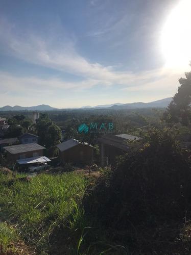 Imagem 1 de 4 de Terreno Em Ótima Localização No Bairro Ratones - Ponto Alto - Florianópolis Sc! - Te00085 - 69476707