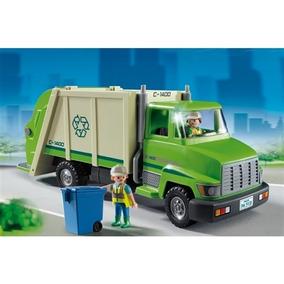 Brinquedo Playmobil Caminhão De Reciclagem 5938