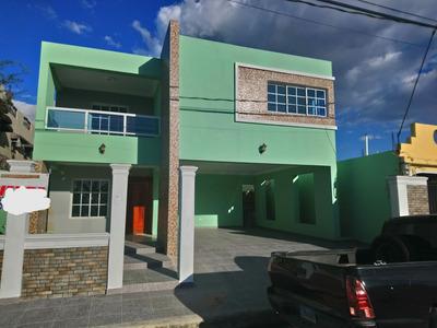 Hermosa Casa Nueva De 2 Niveles Autopista De San Isidro