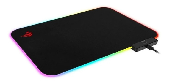 Mousepad Gamer Led Rgb 36x26 Usb Tecido Hv-mp901 Havit