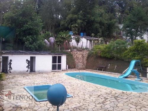 Chácara 3000 M² - Venda - 7 Dormitórios - Chácaras Casemiro - Suzano/sp  - Ch0070