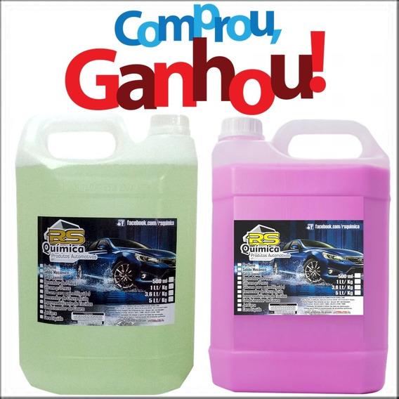 Removedor De Chuva Ácida 5l + Cera Liquida 5l