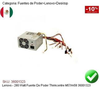 Lenovo Delta DPS-280KB ThinkCentre M58 280W Power Supply 36001689 FRU 45J9423