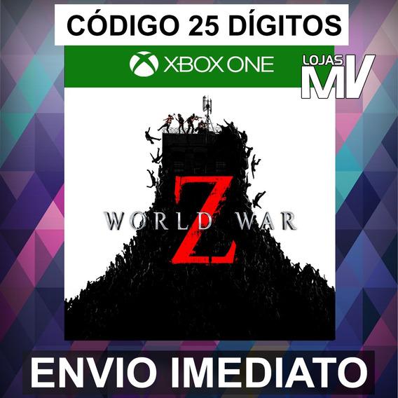 World War Z Xbox One Codigo De 25 Digitos