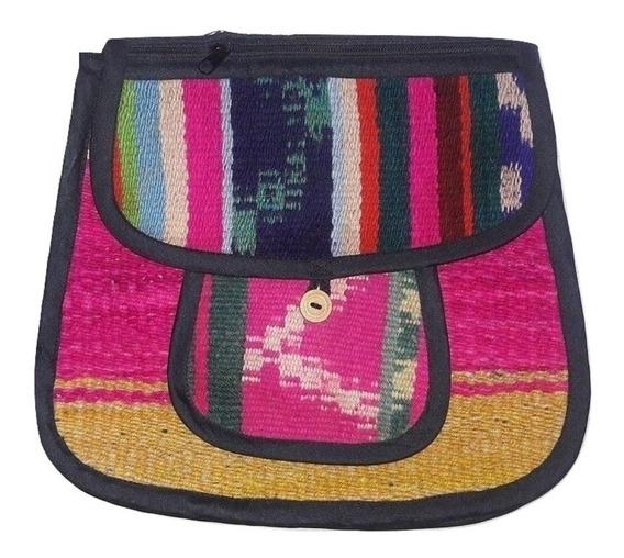 Morral Bandolera De Puyo Varios Colores Tamaño 4 X5 Surtidos