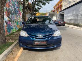 Toyota Etios 1.3 X Completo Único Dono 2015