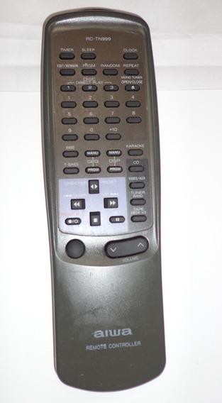 Controle Remoto Original Aiwa Rc-tn999 Nsx-999- Funcionando