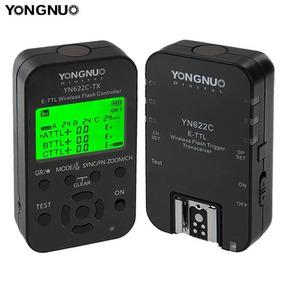 Rádio Flash Yongnuo Yn622c-kit P/ Canon - C/ Nf