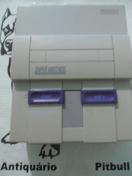 Somente Console Super Nintendo Funcionando