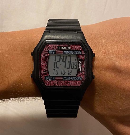 Relógio Timex Indiglo Edição Limitada - Raro
