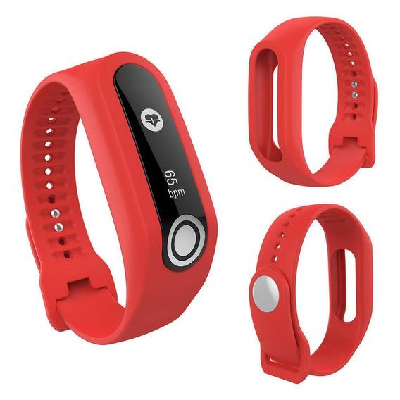 Pulseira Vermelha Para Tomtom Touch Fitness Tracker