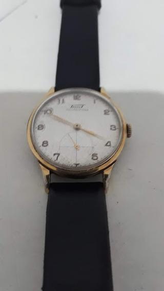 Relógio Tissot Antigo Funcionando !!! A Corda !